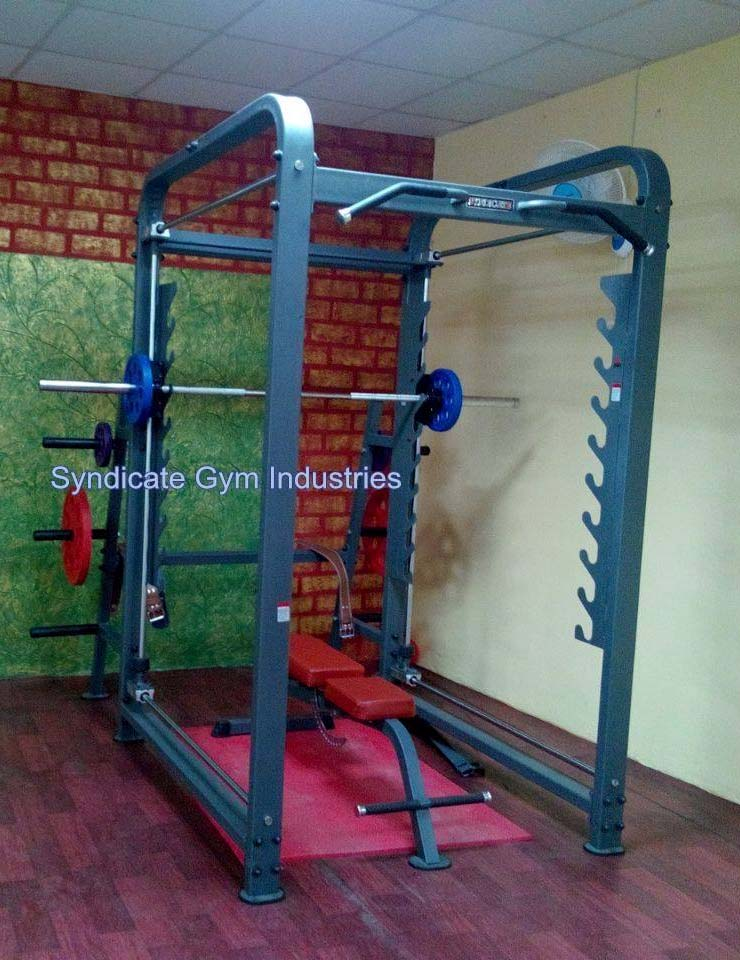 3D SMITH MACHINE ADJUSTABLE WITH SQUAT RACK manufacturer in india