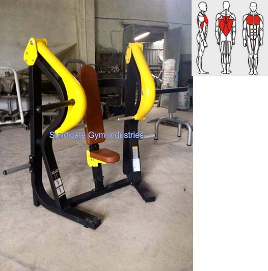 CHEST PRESS PLATE LOADED manufacturer in india
