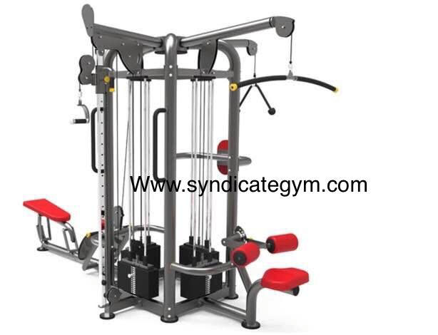 Jungle gym/8 station multi gym manufacturer in india
