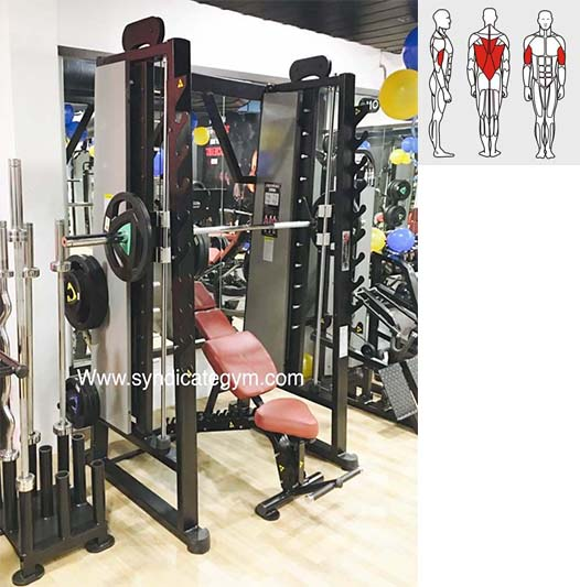 SMITH MACHINE WITH SQUAT RACK manufacturer in india