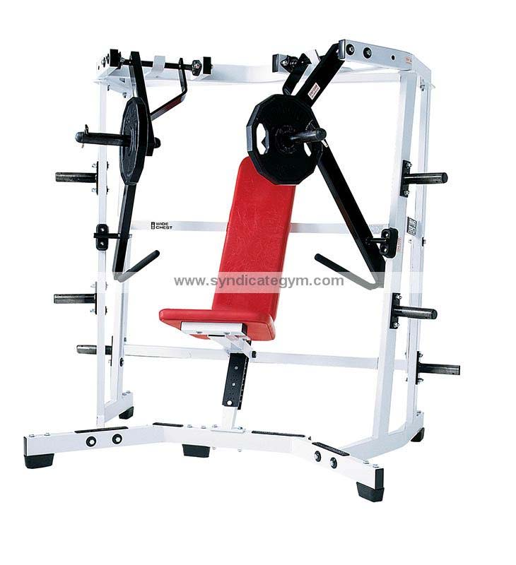 Gym Equipment Kolkata: Iso-Lateral Wide Chest Press Manufacturer In India