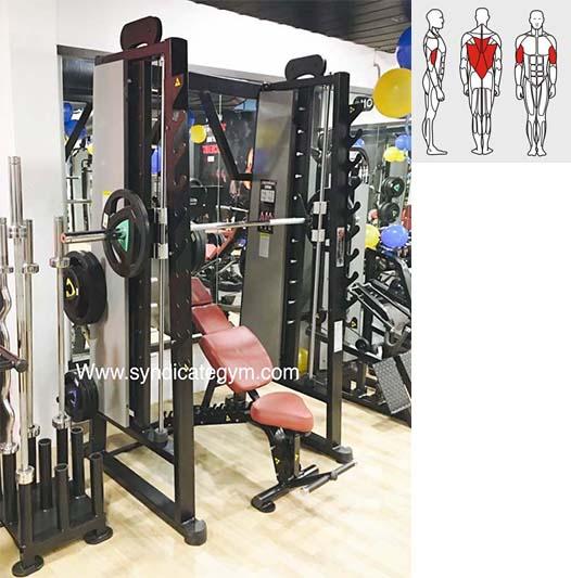 smith machine squat rack