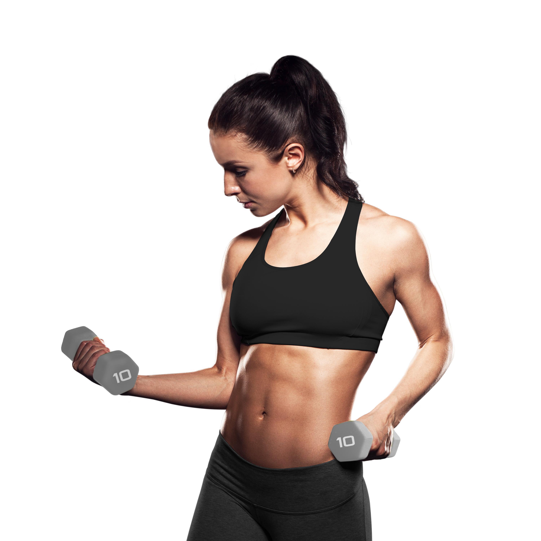 Gym Equipment Kolkata: Neoprene Coated Dumbbells Manufacturer In India