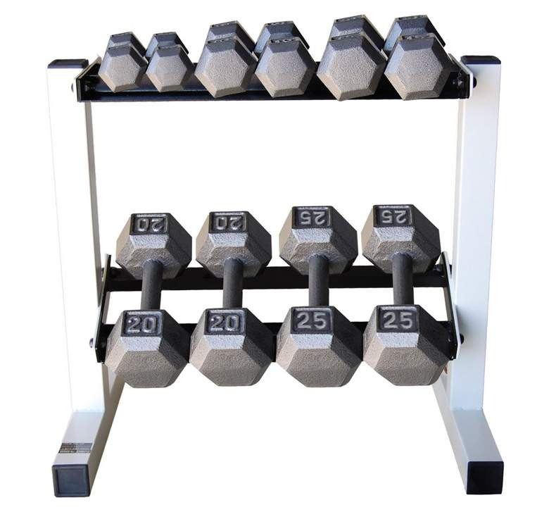 Fixed Weight Barbells With Mild Steel Plate Type Dumbbells in India