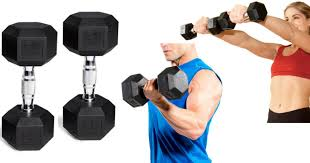 Hex dumbbell in India